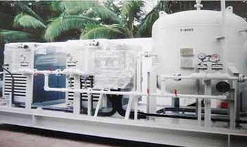 Air Compressor Skid Package